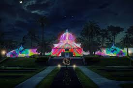 sf christmas tree lighting 2017 conservatory of flowers will be illuminated psychedelic colors for