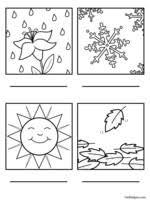 free four seasons worksheets edhelper com