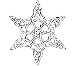 wip celtic star knot b w by wilhem1971 on deviantart