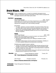 Telecom Project Manager Resume Sample by Examples Of Resumes For Management Positions