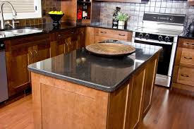 granite countertop most popular wood for kitchen cabinets