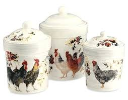 country canisters for kitchen rooster kitchen canisters colorful alluring decorative metal for