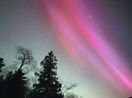 can you see the northern lights in maine pink northern lights in maine aurora borealis and aurora australis