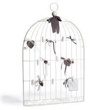ma chambre a la forme d une cage pêle mêle en métal blanc 51 x 80 cm cage oiseaux pêle mêle et
