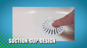 bathroom sink hair catcher bathroom sink bathtub hair catchers youtube