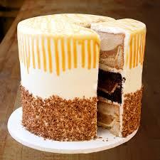 thanksgiving pie cake pumpecapple piecake serves 40 by three brothers bakery goldbely