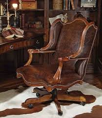 brown leather executive desk chair hooker brown antique leather executive office chair c15