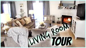 living room tour youtube