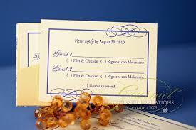 wedding invitation wording menu choice yaseen for