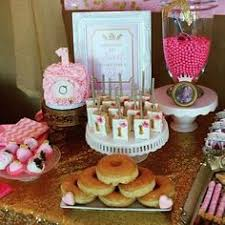 Pink And Gold Dessert Table by Princess Pink And Gold Dessert Table My Party U0027s I Did