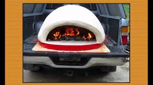 tailgate pizza oven raul u0027s portable wood fired pizza ovens youtube