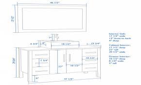 Standard Height Of Bathroom Mirror by Bathroom Impressive Standard Height Bathroom Sink Drain 104
