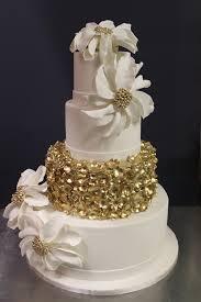 gold confetti wedding cakes wedding cakes weddings pinterest