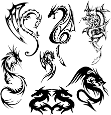 dragon tattoo and dragon designs