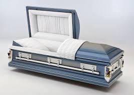 blue casket the casket store