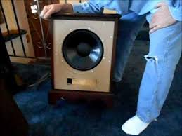 12 inch speaker dual coil cabinet made from hotel nightstand st