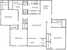 Ranch Style Floor Plans Open by Small House Plans Under 1000 Sq Ft Four Bedroom Ranch One Story