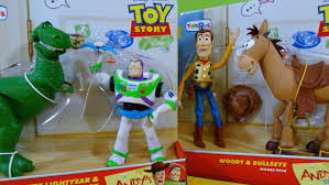 andy u0027s toys toy story woody bullseye buzz