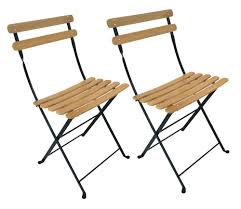 Folding Bistro Chairs Furniture Bistro Cheap Folding Chairs With Wood Seat And Metal