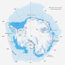 Antartica Map Antarctica Overview