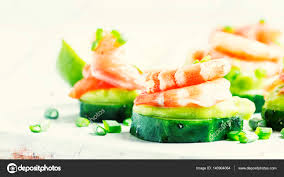 canape mousse canape with cucumber avocado mousse stock photo 5ph 140904064