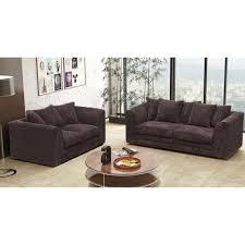 Brown Fabric Sofa Set Cheap Sofa Uk Jackson Fabric Sofa Set Chocolate Sale On