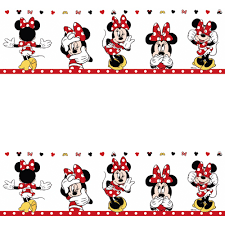 galerie official disney minnie mouse childrens nursery wallpaper