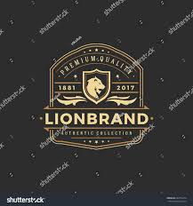luxury logo template vector object logotype stock vector 632274674