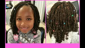 hairstyles for nappy twist for boys kids kinky twist equal cuban twist hair youtube