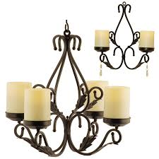 Flameless Candle Wall Sconce Beautiful Flameless Candle Wall Sconce Set 2 Charleston Chandelier