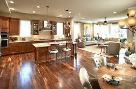 open kitchen dining room designs with fireplace not my pleasing