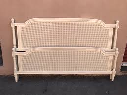 King Size Shabby Chic Bed by King Size Bed Frame French Style With Cane Shabby Chic Mid