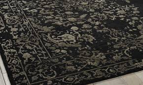 nourison hand tufted opaline midnight silver 8x10 rug the dump