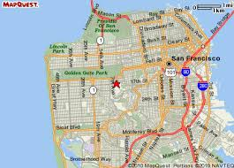 san francisco map detailed widgets san francisco ca