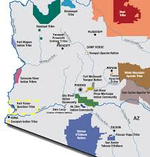 Map Of Colorado River by Quechan Indian Tribe Tribal Water Uses In The Colorado River Basin