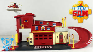 fireman sam fire station toys video children kids