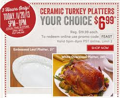 ceramic turkey platter world market 21 ceramic turkey platters 6 99 reg 19 99