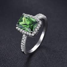 natural rings images 3 0ct natural emerald s925 sterling silver infinity ring madison jpg