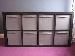 ikea kallax drona cube box storage shelving unit complete with