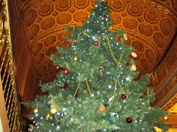 Grand Foyer O Christmas Tree Detroit Movie Palaces