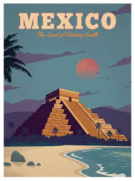 Travel Posters images Vintage mexico poster travel posters pinterest travel jpg