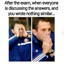 Memes About Final Exams - exam situations memes mutually
