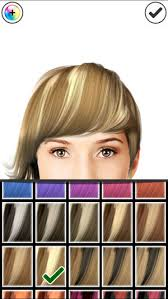 see yourself in different hair color hairstyle magic mirror lite on the app store