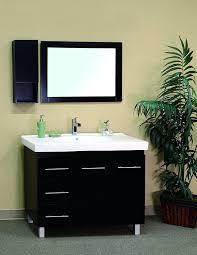 Bathroom Vanity With Drawers On Left Side Bellaterra Home 203129 B L 39 Inch Single Sink Vanity Left Side