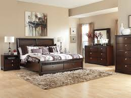 Modern Wood Queen Bed Bedroom Furniture Modern Wood Bedroom Furniture Medium Dark