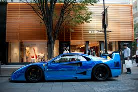 blue enzo f40 beautiful in blue or enzo grave spinner page 1 supercar