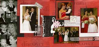 wedding photo album ideas wedding scrapbook album ideas
