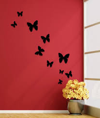 genesis arts wall decor black butterflies acrylic 3d wall art genesis arts wall decor black butterflies acrylic 3d wall art sticker 10 pcs