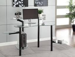 Glass Top Computer Desks For Home Furniture Wooden Modern Computer Corner Desk Design Best Styles