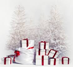 latest fashion backdrop christmas snow pin tree gifts scene